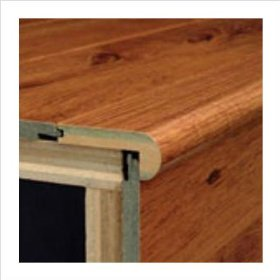 Laminate Flush Stairnose Micro-Bevel Trim-Bruce Hardwood