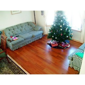 Prefinished Hardwood Wood Floor Jatoba Flooring-Brazilian Cherry Engineered Floating