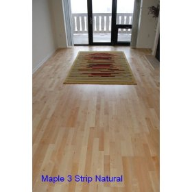 Engineered Floating Hardwood Wood Floor Flooring-Maple Natural Prefinished