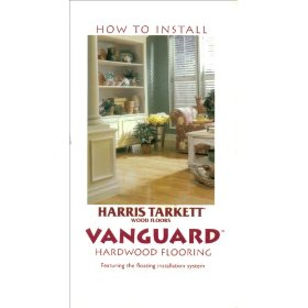 Installation of Harris Tarkett Vanguard Hardwood Flooring
