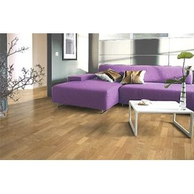 Longstrip Exquisite Prefinished Engineered Hardwood Floor Flooring-Haro Smoked Oak